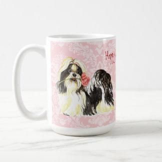 Mug Valentine Shih rose Tzu