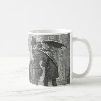 Mug Vampire à ailes victorien/gothique d'un baiser