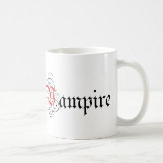 Mug Vampire calligraphique