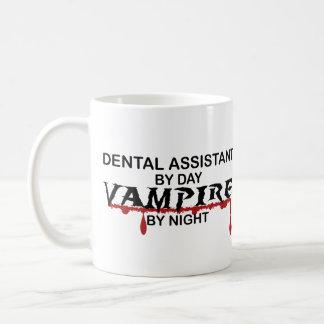 Mug Vampire d'assistant dentaire par nuit