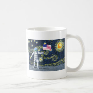 Mug Van Gogh sur la lune