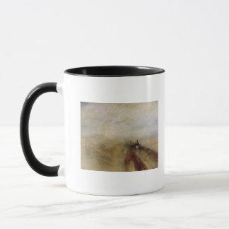 Mug Vapeur et vitesse de pluie