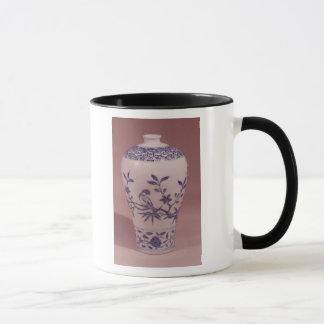 Mug Vase à fleur, dynastie de Ming