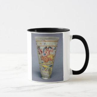 Mug Vase avec la décoration peinte dépeignant l'Europa