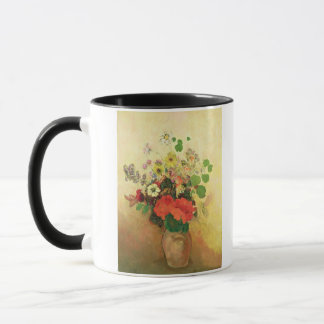 Mug Vase de fleurs, c.1908-10 (huile sur la toile)