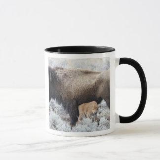 Mug Veau de bison de soins de vache, Yellowstone 3