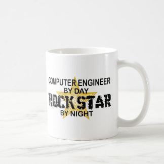 Mug Vedette du rock d'ingénieur informaticien