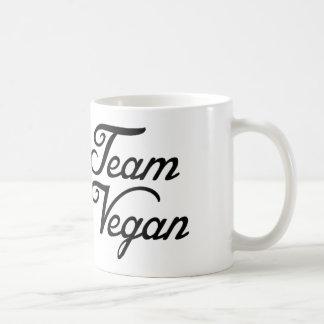 Mug Végétalien d'équipe