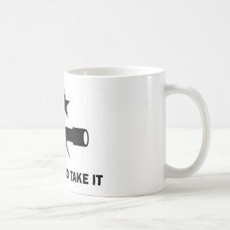 """Mug """"Venez le prendre"""" pour des scientifiques"""