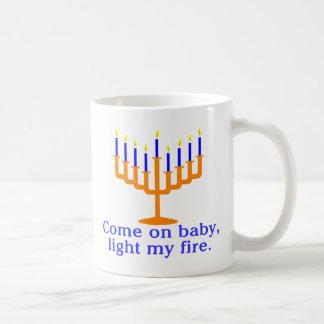 Mug Venez sur le bébé, allumez mon feu