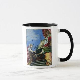 Mug Venise a couronné entre la justice et la paix