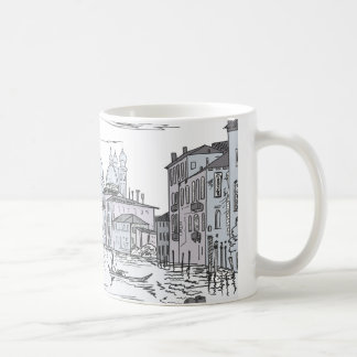 Mug Venise. Ville sur l'eau