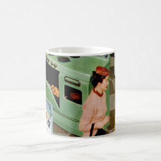 Mug Vente au détail vintage d'affaires, magasin de