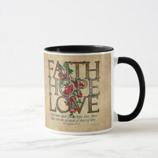 Mug Vers chrétien de bible d'amour d'espoir de foi