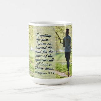 Mug Vers de bible de 3h14 de Philippiens,