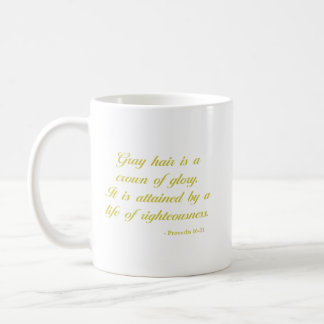 Mug Vers de bible de la lavande   du 16:31 % pipe% de