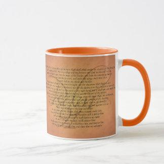Mug Vers de bible du psaume 91