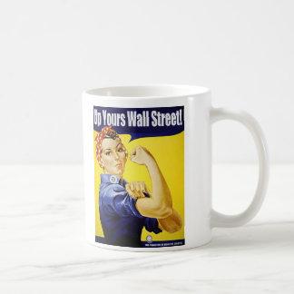 Mug Vers le haut du vôtre Wall Street