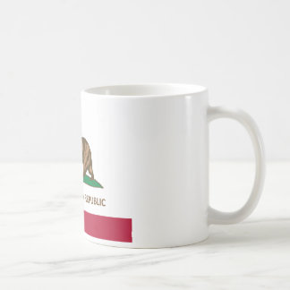 Mug Version de chou frisé de drapeau de la Californie