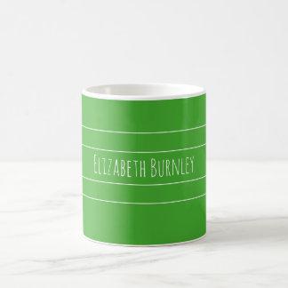 Mug Vert #4aa2f de perruche de Colourshot avec votre