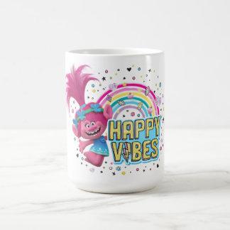 Mug Vibraphone heureux de pavot des trolls |
