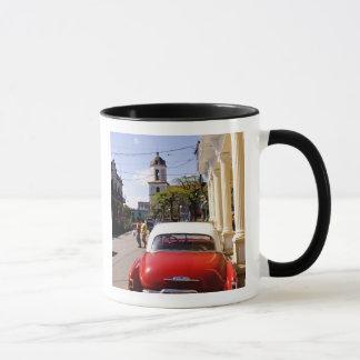 Mug Vieille automobile américaine classique dans