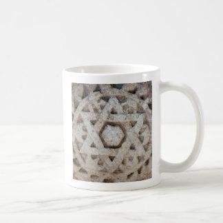 Mug Vieille étoile de David découpant, Israël