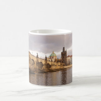 Mug Vieille photo de souvenir de ville de Prague