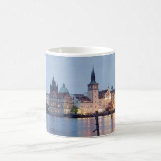Mug Vieille photo de souvenir de vue de rivière de