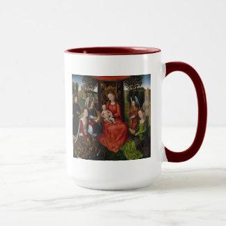 Mug Vierge et enfant avec des saints Catherine de
