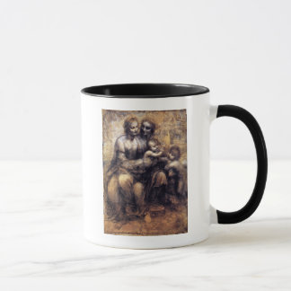 Mug Vierge et enfant avec le croquis de St Anne