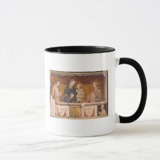 Mug Vierge et enfant avec St Francis et St John