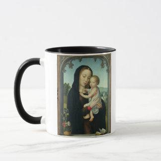 Mug Vierge et enfant (huile sur le panneau)