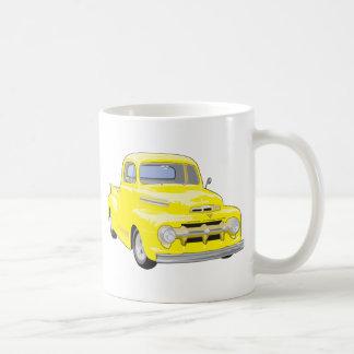 Mug Vieux camion jaune