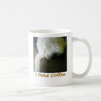 Mug Vieux chien de berger anglais, j'ai besoin de la