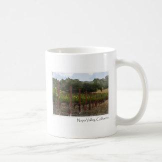 Mug Vignoble de raisin de Napa Valley la Californie