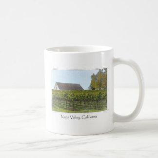 Mug Vignoble et grange de Napa Valley la Californie