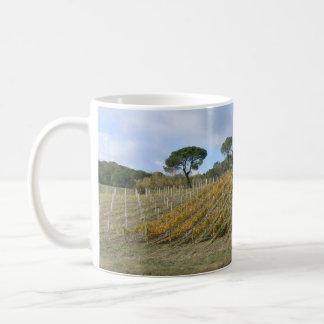 Mug Vignoble toscan en automne