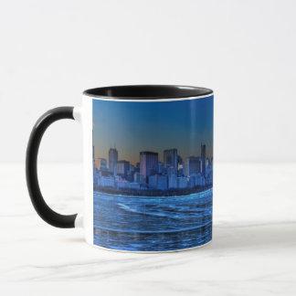 Mug Ville de larges épaules et de lac Michigan
