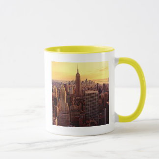 Mug Ville d'horizon de New York avec l'état d'empire