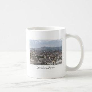 Mug Ville du paysage urbain de Barcelone Espagne