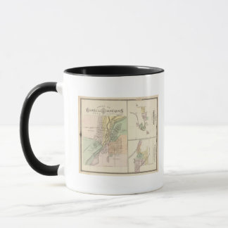 Mug Villes de Centralia et de Grand Rapids