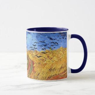 Mug Vincent van Gogh - champ de blé avec les