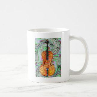 Mug Violoncelle psychédélique