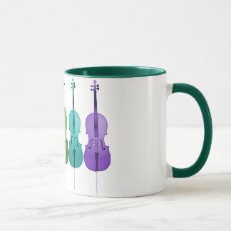 Mug Violoncelles et couleur