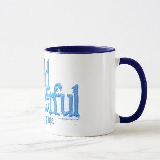 Mug Virginie-Bleu occidental merveilleux sauvage