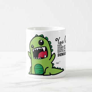 Mug Visage de dinosaure