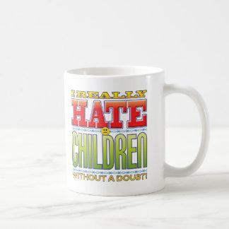 Mug Visage de haine d'enfants