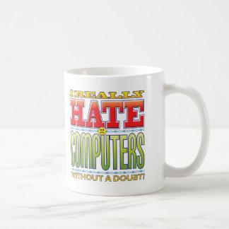 Mug Visage de haine d'ordinateurs