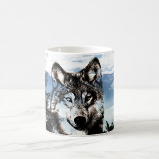 Mug Visage de loup